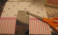 How to install dollhouse wallpaper | Source: dollhousedecorating.blogspot.ca