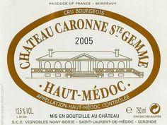 2010 Château Caronne-Ste.-Gemme - Haut-Médoc - Google Search
