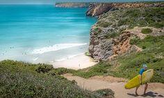 Beliche beach in the Algarve region of Portugal