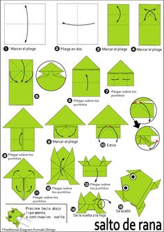 Origami Instructions for A Frog . 3 origami Instructions for A Frog . origami A Frog Instructions Easy origami Instructions Instruções Origami, Origami Tattoo, Cute Origami, Origami Ball, Origami Bookmark, Paper Crafts Origami, Useful Origami, Origami Design, Origami Flowers
