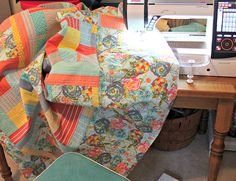 Quilt Top -- Done! by maureencracknell, via Flickr