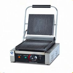 121.00$  Watch here - http://alinw6.worldwells.pw/go.php?t=32739942954 - Small household electric panini grill press sandwich maker single plate steak griddle   ZF 121.00$