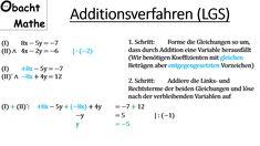 8 best Lineare Gleichungssysteme (=LGS) mit 2 Unbekannten images on ...