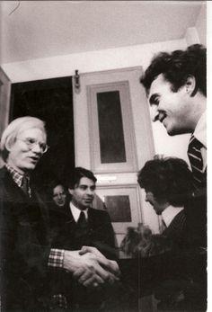 Raffaele Torelli, Totto Carrà e Andy Warhol