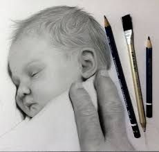 Image result for pencil drawing of children