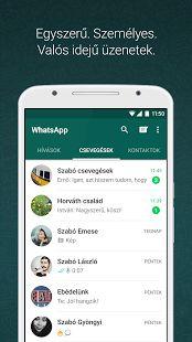 WhatsApp Messenger – képernyőfelvétel indexképe