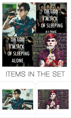 """""""E D G E R"""" by nobody-really-anons ❤ liked on Polyvore featuring art"""