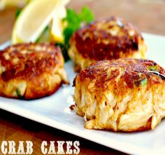 Looking for #easy and #quick #recipe for Crab Cakes? Here is a recipe you can literally put together in 5 minutes!