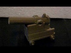 Repeat fire Gauss Cannon, in Bronze Filament