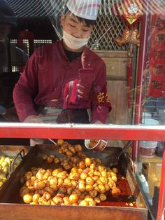 Recipe for Xi'an Spicy Fried Potatoes inspired by travels in Xi'an China - small fried potatoes flavored with chilies and peppers Greek Chickpea Salad, Chickpea Salad Recipes, Vegetarian Recipes, Blt Chopped Salads, Italian Chopped Salad, Chinese Street Food, Dried Potatoes, Bell Pepper, Healthy Salads