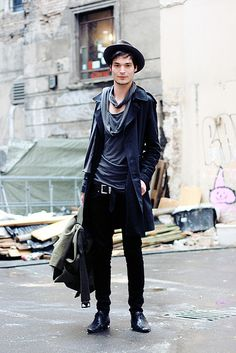Men's fashion/winter layers/winter fashion/outerwear/street fashion