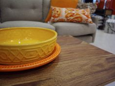 Homewares and Decor - Yellow and Orange Bowls from Oz Design