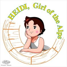 Heidi, Girl of the Alps Granny Love, Classic Cartoons, 2nd Birthday Parties, Betty Boop, Alps, Cartoon Characters, Childhood Memories, Manga Anime, Hello Kitty