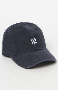 American Needle New York Yankees Washed Micro Baseball Cap at PacSun.com 286512b9982