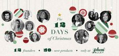 12 days of Christmas campaign