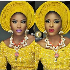 #asoebispecial #asoebi #speciallovers #makeup #wedding  Asooke @abake_alaso_oke  Glam @beautywise_bola  Beads @ripplebeads