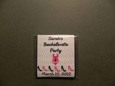 Bachelorette Lingerie Mini Matchbook Nail Files (set of 12)