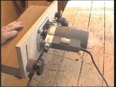 home made router table k. i. s. s stile - YouTube