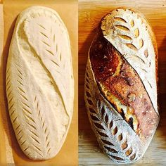 Tuesday bake: light rye and malted barley with molasses. Tuesday bake: light rye and malted barley w Artisan Bread Recipes, Sourdough Recipes, Sourdough Bread, Bread Art, Bread Shaping, Malted Barley, Bread And Pastries, No Yeast Bread, Bakery