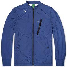 MA.STRUM Ripstop Harrington Jacket (Northern Blue)
