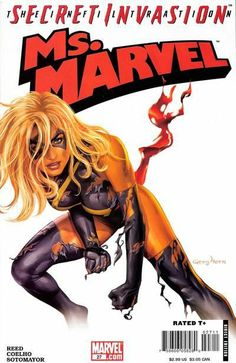 Ms. Marvel (2006) #27 cover by Greg Horn - Secret Invasion