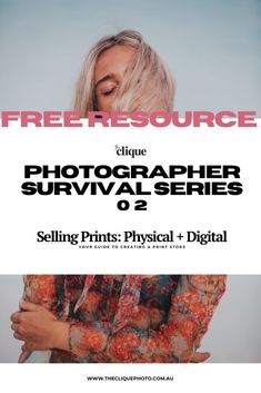 A worksheet + video to get you thinking, creating and brainstorming ways to create a print store in Photography Career, Dream Photography, Water Photography, Photography Workshops, Digital Photography, Print Store, Physics, Survival, Tools