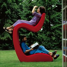 It's kinda like a bunk bed, but with chairs. Also, we can like, read at the same time, or watch diff tv shows.