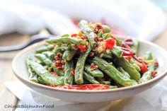 judias verdes secas fritas