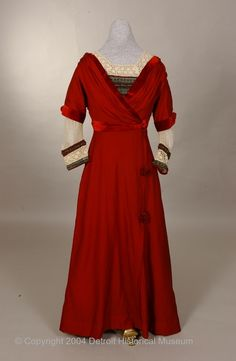 Dress 1908-1912 The Detroit Historical Museums Historical...