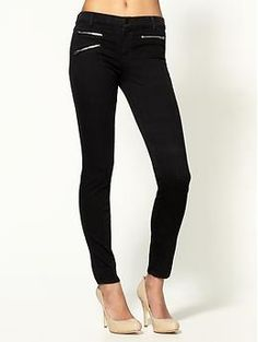 J Brand Zoey Mid Rise Skinny w/ Zippers Jeans   Piperlime