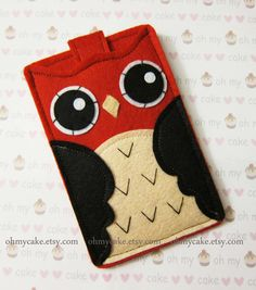 iPhone sleeve felt iPhone sleeve iPhone case felt by ohmycake, $24.00