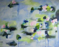 """oil on canvas 24 x 30 by Kerry Steele """"Watery"""