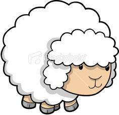 Cute Sheep Lamb Royalty Free Stock Vector Art Illustration