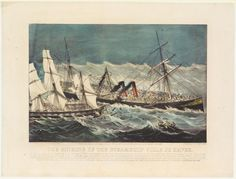 the-sinking-of-the-steamship-ville-du-havre-by-currier-ives-