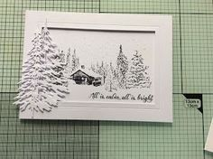 I& made a few Christmas cards to give me a head start on the busy season, plus a card I made for my niece to celebrate her wedding earlie. Christmas Cards 2017, Create Christmas Cards, Christmas Paper Crafts, Stampin Up Christmas, Xmas Cards, Handmade Christmas, Holiday Cards, Art And Illustration, Christmas Drawing