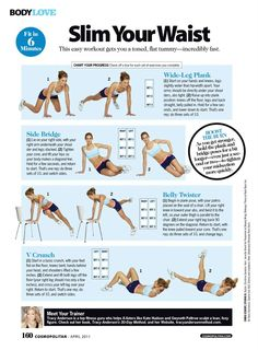 Slim Your Waist Workout