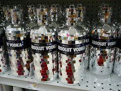 Absolut Vodka Glitter Edition :)