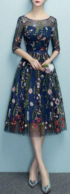 46 Ideas Party Look Fashion Beautiful Dresses For Teens, Trendy Dresses, Elegant Dresses, Vintage Dresses, Nice Dresses, Casual Dresses, Short Dresses, Beautiful Dresses, Floral Dresses