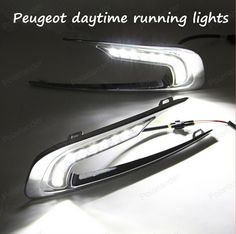 For Peugeot 2008 LED DRL DAYTIME LIGHTS FOG LAMPS DRIVING DAYTIME LIGHTS