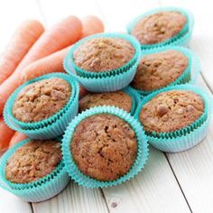 Spiced Carrot Bran #Muffin #Recipe