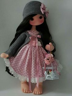 Image gallery – Page 625155992003465231 – Artofit Sewing Dolls, Sewing Clothes, Doll Clothes, Best Baby Doll, Anchor Dress, Baby Doll Toys, Gothic Dolls, Polymer Clay Dolls, Child Doll