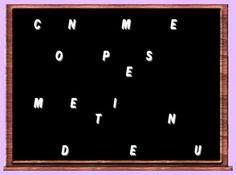 Le tunnel aux allumettes: Jeu de lettres chez Lady Marianne 1