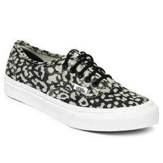 7e0bd082dd Vans Shoes - VANS Classics Authentic Slim Leopard Print Fashion Tips