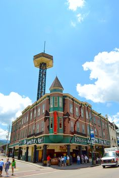 Gatlinburg is such a pleasant place to vacation. It's unique and you can't find another place like it!
