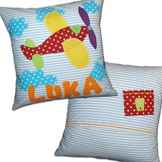 Personalized Pillow Case Cushion Custom Name & by DreamsGuardian, $45.00