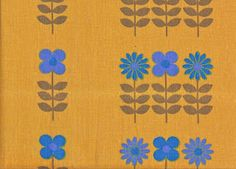 Pop flower 1970s Dekoplus fabric