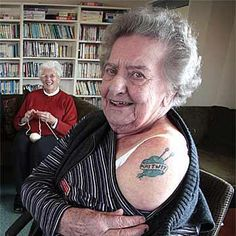 knitting tattoo Its ME when I get older