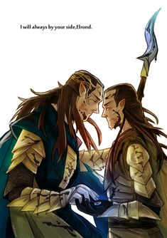 The Last Alliance by JaneDoemmmmm.deviantart.com on @deviantART. :'( Recently I've been thinking a little about how much Elrond truly lost: his parents, friends like Maglor and Gil-Galad and his wife. He also lost his only daughter and brother to a mortal death. Few realize that until after the Dagor Dagorath, elves and men share different afterlives. So he won't even see Arwen in Valinor... :'(