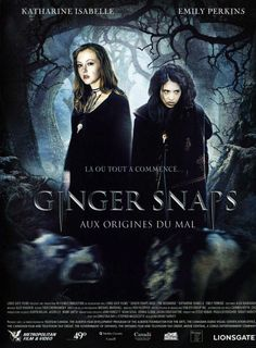 Ginger Snaps Back: The Beginning French dvd movie cover Horror Movie Posters, Original Movie Posters, Horror Movies, Scary Movies, Hd Movies, Film Movie, Ginger Snaps Movie, Katharine Isabelle, Movie Covers