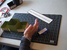 Origami Box part 2 - YouTube